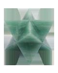 MERCABA STAR 4 CMS ( GREEN AVENTURINE )