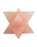 MERCABA STAR 2.5 TO 3 CMS ( ROSE QTZ )