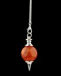 Ball Pendulum - 'red Jasper