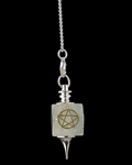 Hexagonal Pentacle Star Pendulum 8713