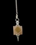 Hexagonal Reiki Cho Ku Rei Pendulum