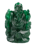Green Mica Ganehsa Small Size