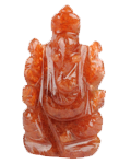 Red Aventurine Ganesha Small Size