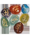 7 Chakra Tumbled Set