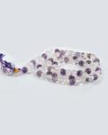 Amethyst/Crystal/Rose Qtz Jap Mala 108 Beads