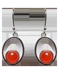 Carnelian Earings