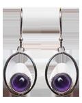 Amethyst Earings