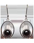 Garnet Earing