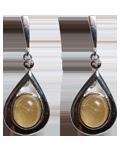 Diamond w/ 7 Chakra Earing