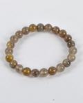 Navrang Agate Round Bead Bracelet