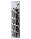 Black Tourmaline Wire Wrap Point Pendant