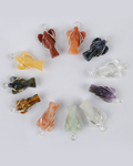 Asstd. Wire Wrap 12 Pcs Pack Angel Pendant