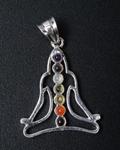 Kundalini Buddha 7 Chakra Pendant