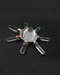 Crystal Cone Generator with chakra cabs