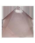Rose Qtz 2.5 cms Pyramid