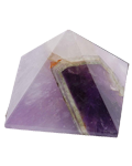 Chevron Amethyst 2.5 cms Pyramid