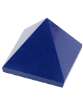 Synthetic Lapiz 2.5 Cms Pyramid