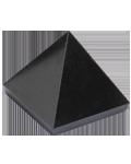 Black Hot Stone Jasper 2.5 cms Pyramid