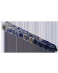 Sodalite 7.5 to 10 cms 6 facet Massag Stick