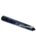 Sodalite 10 cms to 12 cms 12 Facet Massag Stick