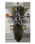 Labradoirte w/Star Chakra Pendant